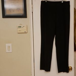ANN TAYLOR Stretch Ladies' Bkack Pant Size 12